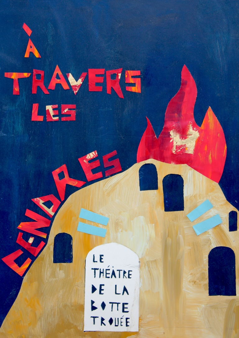 Affiche À travers les cendres 2015